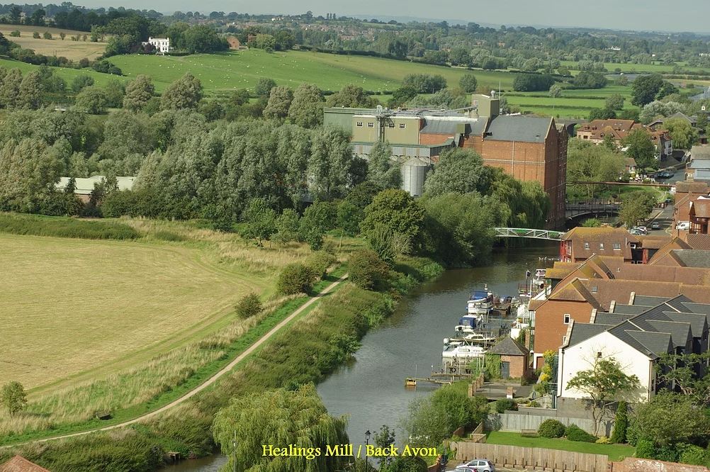 Back Avon walk and Healings mill